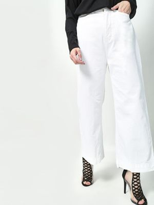 Freakins Flared Hem Straight Fit Jeans