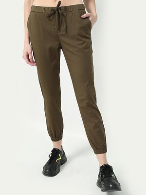 Freakins Cuffed Hem Elasticated Trousers