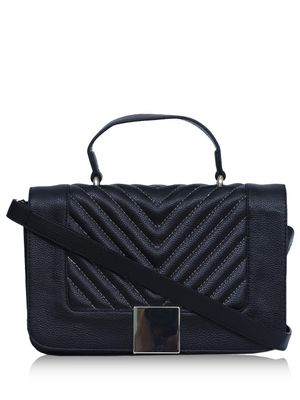 DIWAAH Flap Over Textured Handheld Bag