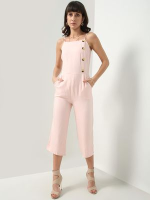 Oxolloxo Basic Sleeveless Jumpsuit