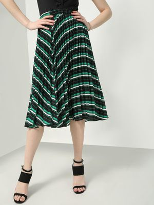 Oxolloxo Abstract Wave Midi Skirts