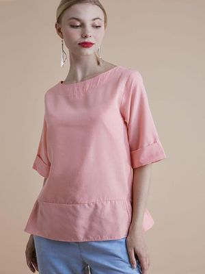 MERAKI Essential Round Neck Top
