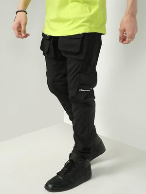 FUGAZEE Zipped Cargo Pocket Track Pant