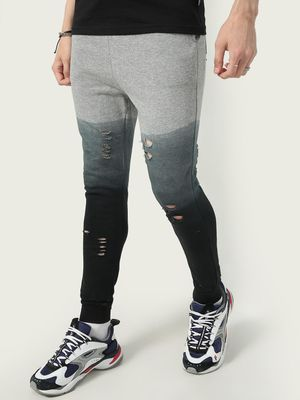FUGAZEE Ripped Distressed Track Pant