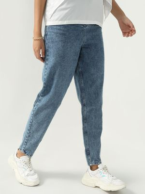 K Denim Koovs Smart Light Wash Jeans