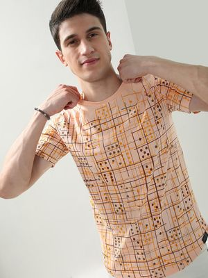 IMPACKT All Over Printed Crew Neck T-Shirt