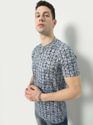 REALM Printed Casual T-shirt