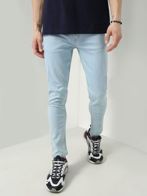 REALM Mid-Rise Light Wash Jeans