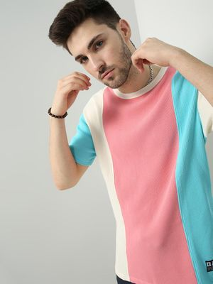 ABG Color Block Relaxed Fit T-Shirt