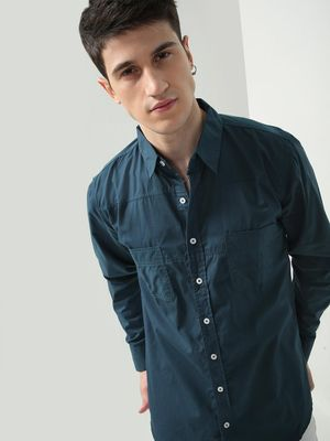 Oxolloxo Button-Down Patch Pocket Shirt