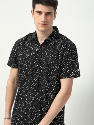 Oxolloxo All Over Illusional Dots Print Shirt
