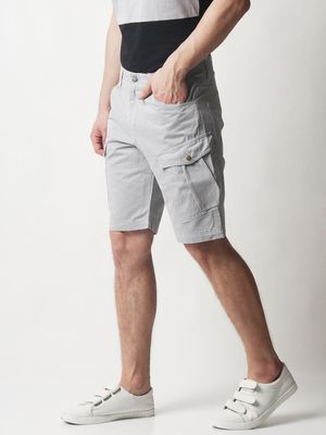 Blue Saint Utility Pocket Knee Length Shorts