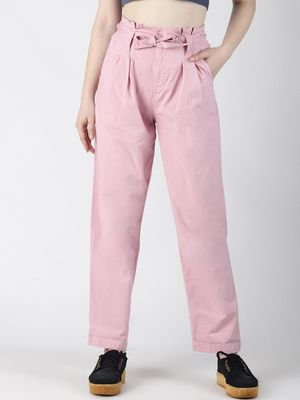 Blue Saint Tie-Knot Casual Trousers