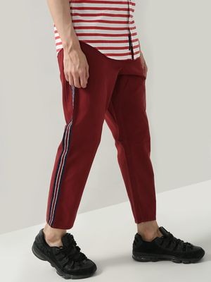 Blue Saint Side Tapped Slim Fit Trousers