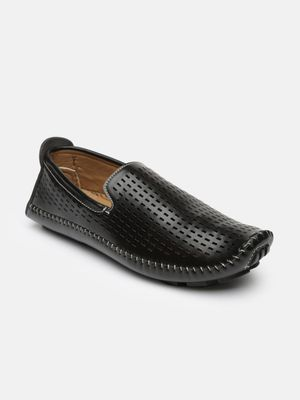 Blue Saint Classic Perforated Loafers