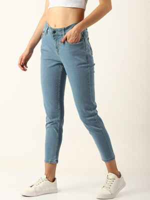 Blue Saint High Ankle Slim Fit Jeans