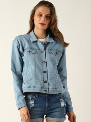 Blue Saint Flap Twin Pocket Jacket