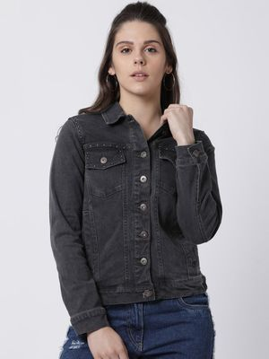 Blue Saint Twin Pockets Denim Jacket