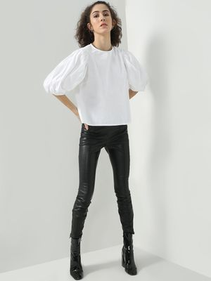 Oxolloxo Smart Frilled Sleeve Top