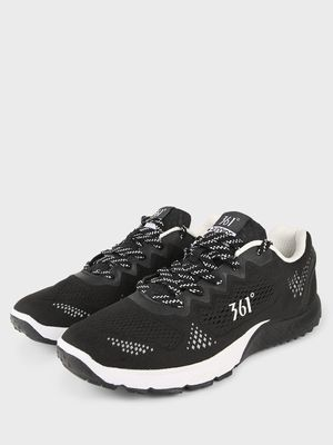 361 Degree Lace-Up Mesh Trainers