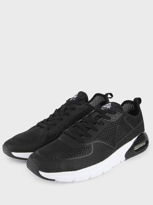 Peak Contrast Sole Perforated Shoes