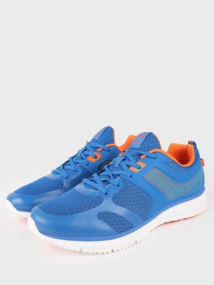 361 Degree Contrast DetailLace-Up Sneakers