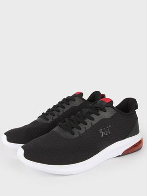 361 Degree Logo-Print Lace-Up Trainers