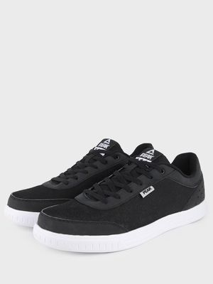 Peak Knitted Lace-Up Shoes