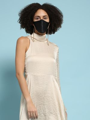 ATTIC SALT Reusable Fabric Hanging Chain Safety Mask