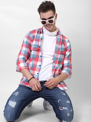 Bollywoo Rossaille Check Full Sleeve Shirt