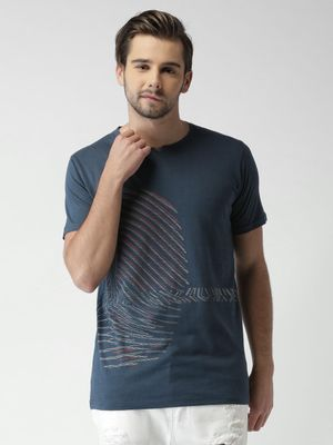 Sheltr Abstract Print Casual T-shirt