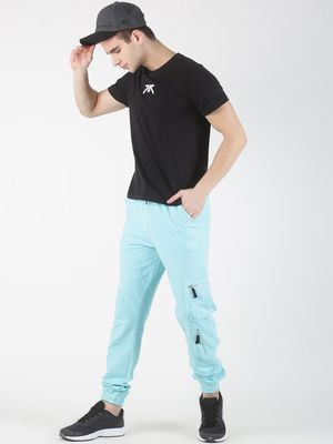 Blue Saint Utility Pockets Casual Joggers