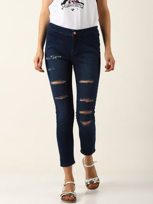 Blue Saint Mid-Rise Stretchable Skinny Fit Jeans