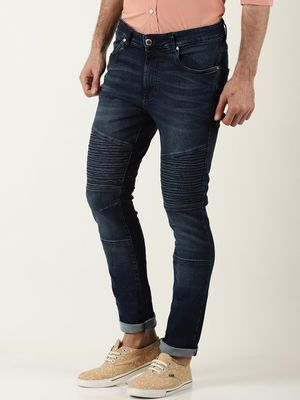 Blue Saint Mid-Rise Stretchable Slim Fit Jeans