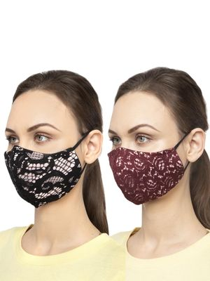 Oxolloxo Reusable Mesh Safety Mask (Pack Of 2)