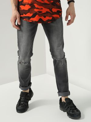 Blue Saint Ripped Knee Casual Jeans