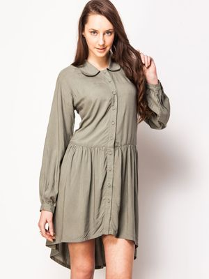 KOOVS Relaxed Shirt Dress