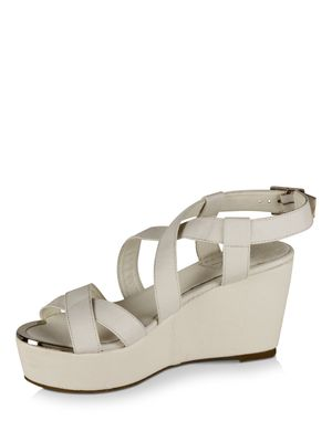 AKA Designed by PATRICK COX for KOOVS AKA Mid Heel Front Toe Plated Shoes Designed By PATRICK COX For KOOVS