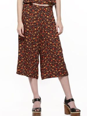 New Look Petite Ditsy Print Culottes
