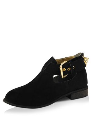 Zebba Buckle Boots