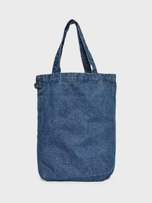 KOOVS Denim Tote Bag