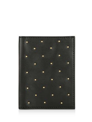 KOOVS Studded Passport Holder