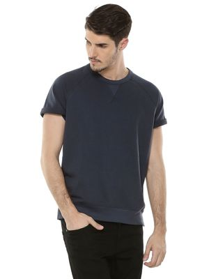 New Look Rolled Up Sleeve T-Shirt