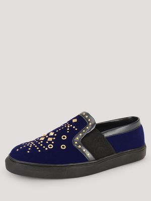 KOOVS Stud Detail Slip On Plimsolls