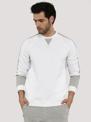 Zobello Contrast Panel Sweatshirt