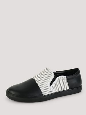 Griffin Slip-ons with Perforated Upper