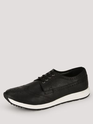 Knotty Derby Wing Cap Brogue Trainers