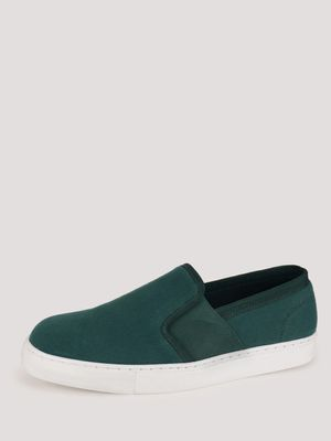 KOOVS Elasticated Side Slip-On Shoes