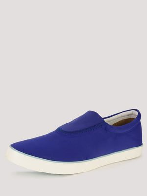 KOOVS Padded Collar Slip On Shoes