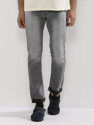Flying Machine Washed Michael Slim Tapered Jeans